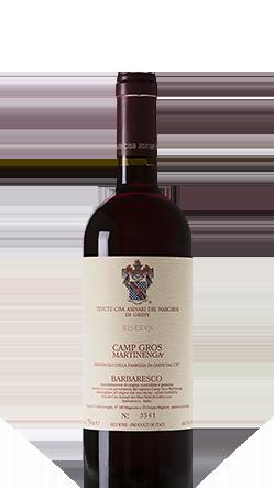 Macellai Vicenza, selezione vini, bottiglia camp gross