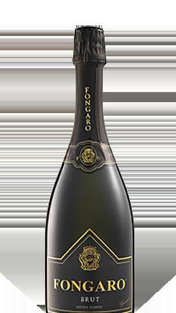 Macellai Vicenza, selezione vini, bottiglia fongaro brut