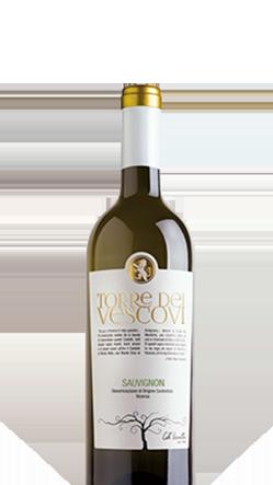 Macellai Vicenza, selezione vini, bottiglia torre dei vescovi chardonnay