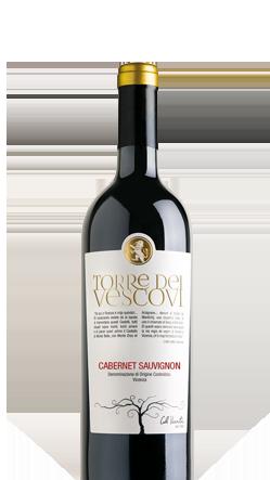 Macellai Vicenza, selezione vini, bottiglia torre dei vescovi cabernet